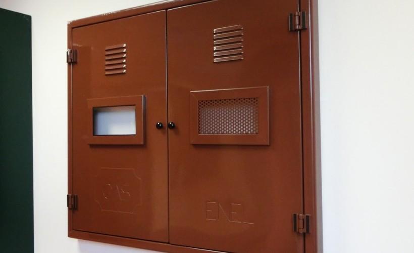 armadietti con serrandina: mobile armadietto modulare serrandina ... - Armadietti Zincati
