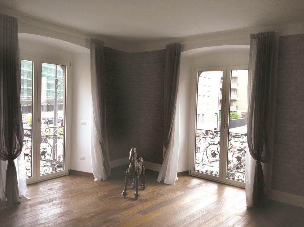 Serramenti in alluminio legno milano m b serramenti for Serramenti legno